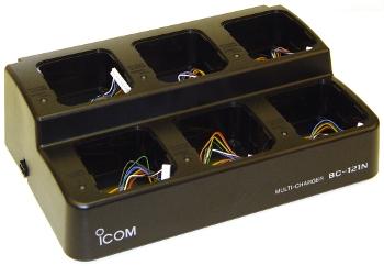 Icom IC-A14 / IC-A14S Multi-Unit Desktop Charging System