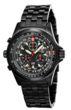 Torgoen T1 Watch - Black Steel Bracelet, Black Case, Black Face