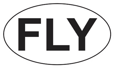 FLY Euro Sticker