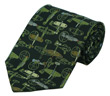 WWII Fighter Plane Tie - 100% Silk
