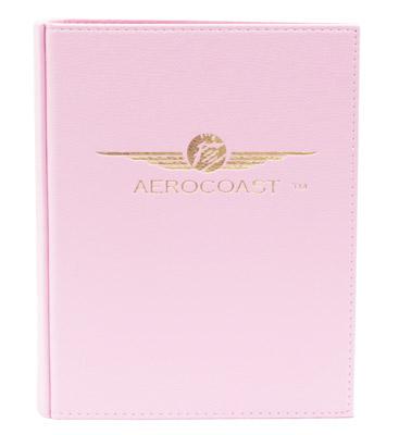 Aerocoast Jeppesen Airway Manual Binder - Pink