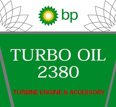 Air BP 2380 Turbine Oil - 24 Quart Case (Free Shipping)