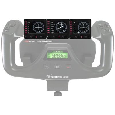 Logitech Saitek Pro Flight Instrument Panel - 3 Pack