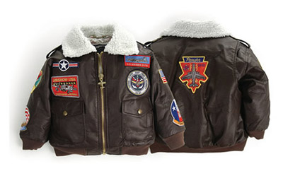Youth US Navy Top Gun G-1 Bomber Jacket