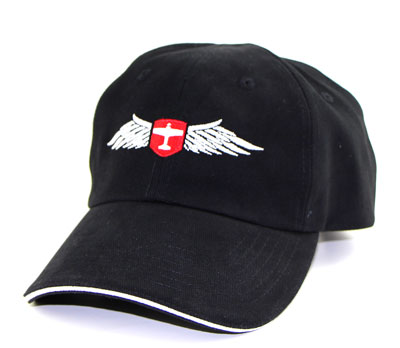 Pilot Wings Hat (no top button)