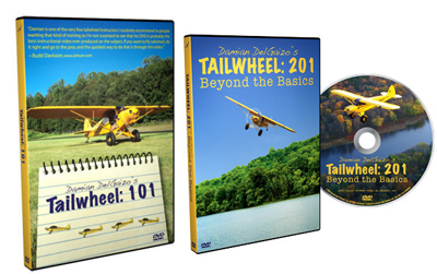 Tailwheel: 101 AND Tailwheel 201 DVD Combo