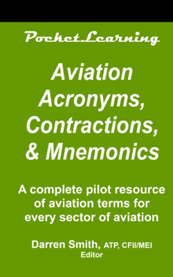 Aviation Acronyms, Contractions, and Mnemonics