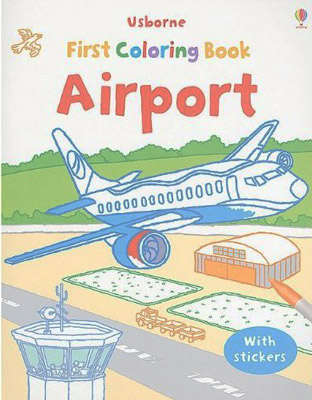 First Coloring Book Airport