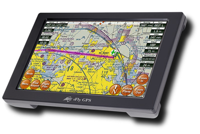 iFLY 720 Moving Map GPS for Pilots