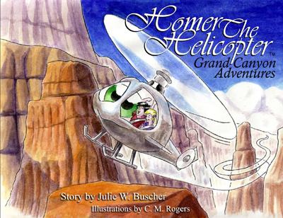 Homer The Helicopter - Grand Canyon Adventures