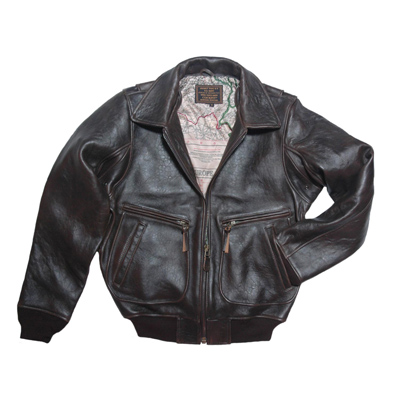 Cockpit Classic G-2 Raider Leather Jacket - Black