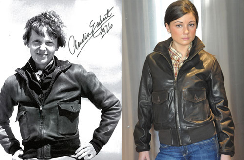 Amelia Earhart Flight Jacket