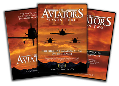 The Aviators TV: Seasons 1, 2, and 3 DVD Bundle