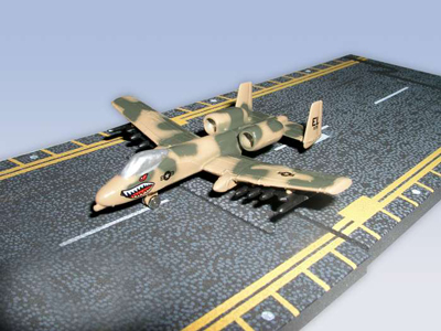 A-10 Thunderbolt Hot Wings Die-cast Airplane