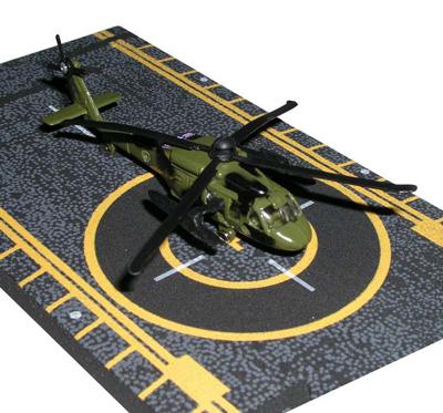 Blackhawk Helicopter Hot Wings Die-Cast Model