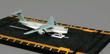 C-5 Galaxy Cargo Plane Hot Wings Die-Cast Airplane