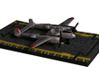 P-38 Lightning Hot Wings Die-Cast Airplane
