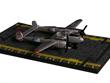 P-38 Lightning Hot Wings Die-Cast Airplane