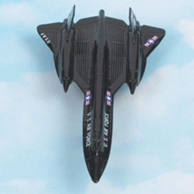 SR-71 Blackbird Hot Wings Die-Cast Airplane