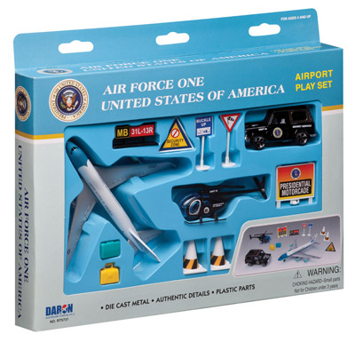 Air Force One 12 Piece Airport Play Set