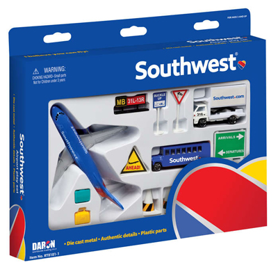 Southwest Airlines 12 Piece Airport Play Set