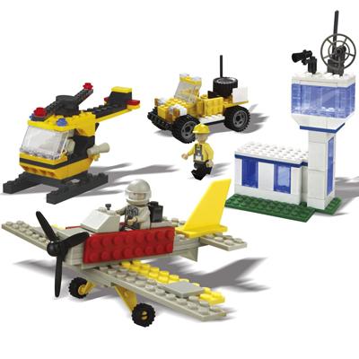 Best-Lock Airport Construction Set - 240 Pieces
