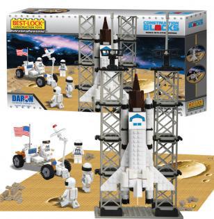 Best-Lock Space Shuttle Construction Set - 330 Pieces