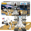 Best-Lock Space Shuttle Construction Set - 513 Pieces