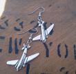Flying High Airplane Earrings