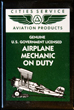 Airplane Mechanic on Duty Magnet