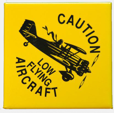 Low Flying Aircraft Magnet