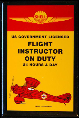 Flight Instructor on Duty Magnet