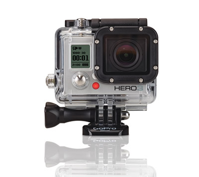 GoPro HERO3 HD Video Camera - Silver Edition