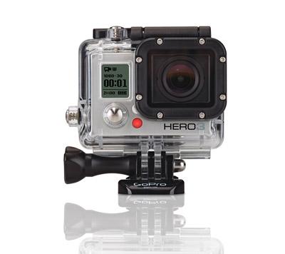 Gopro Hero3 Hd Video Camera - Silver Edition