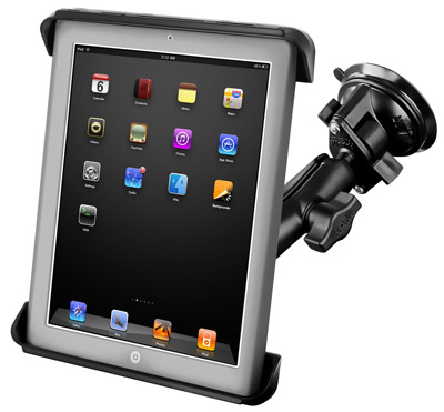 RAM Mount System for 10 inch iPads with Cases