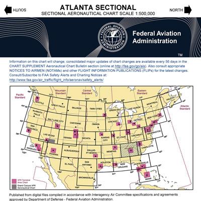 VFR: ATLANTA Sectional Chart