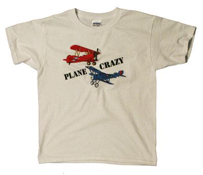 Kids Plane Crazy T-Shirt