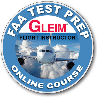 Gleim Flight/Ground Instructor + FOI Test Prep Online Software