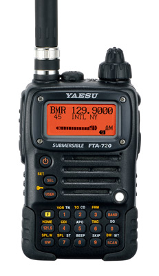 Yaesu FTA-720 NAV-COM Aviation Transceiver
