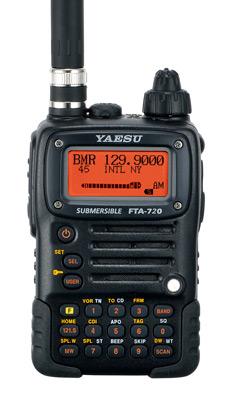 Yaesu FTA-720 NAV-COM Aviation Transceiver
