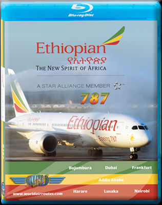 Ethiopian Airlines Boeing 787 Dreamliner Cockpit Video (DVD)