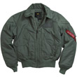 McGuire CWU-45P Faux Nomex Flight Jacket - Sage Green