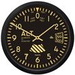 Vintage Altimeter Wall Clock 6 5 Inch Mypilotstore Com