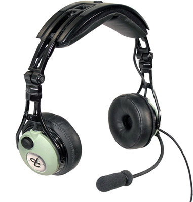 David Clark Pro-XP ANR Headset - Panel Power Plug