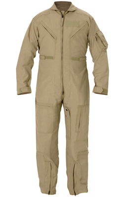 CWU-27/P Nomex Flight Suit - Tan