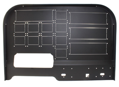 Advanced Cockpit Panel for Saitek
