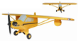 Piper Cub 3-D Wall Art
