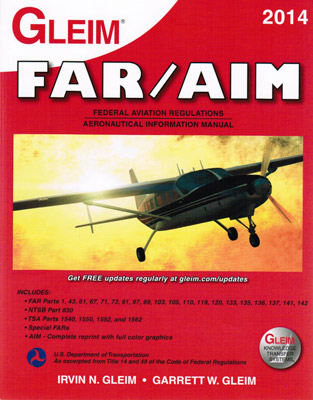 Gleim 2014 FAR/AIM Book