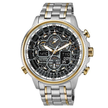 Men's Citizen Navihawk A-T Eco-Drive Watch (JY8034-58E)