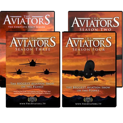 The Aviators TV: Seasons 1, 2, 3, and 4 Bundle